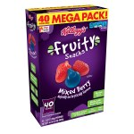 Amazon : Fruity Snacks, Mixed Berry, Gluten Free, Fat Free, 32 Oz (40 Pouches) Just $5.88 (Reg. $8.99)