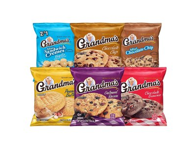 AMAZON: Grandma's Cookies Variety Pack of 30, AS LOW AS $12.74 · CHECKOUT VIA SUBSCRIBE & SAVE!