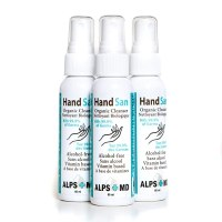 3-Pack HandSan Organic Hand Cleanser (3 x 60 mL) – No-Alcohol Antimicrobial Hand Sanitizer Spray With Vitamins & Moisturizing Nutrients – All-Natural Kid-Safe Formula – Kills 99.9% Of Germs for $19.95