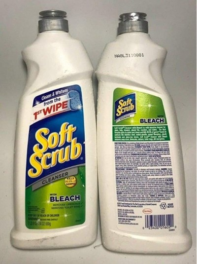 AMAZON: Soft Scrub Cleanser with Bleach, 24 Ounce (Pack of 2), LIMITED STOCK!