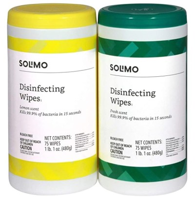 AMAZON: Solimo Disinfecting Wipes, LIMITED STOCK!!