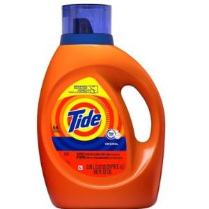 AMAZON: Tide Laundry Detergent Liquid, Original Scent for $12.35 (Reg. Price $16.00)