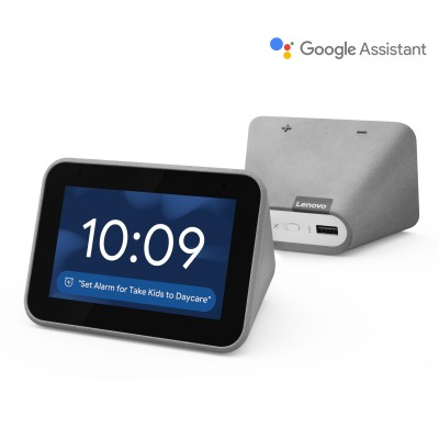 WALMART: Lenovo Clock with Google Assistant Just $39.99 Shipped (Regularly $80)