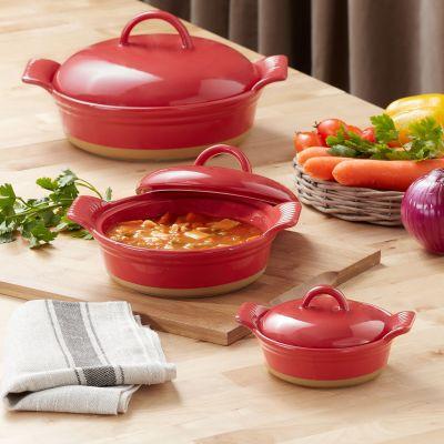 WALMART: Better Homes & Gardens Parker Round Casserole Baking Dish with Lid, 6 Pc Set