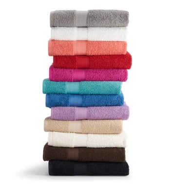 KOHL'S: The Big One Solid Bath Towels ONLY $2.97 (Reg $10)