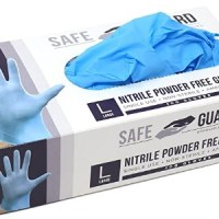 AMAZON: 100 Pack Of Safeguard Nitrile Disposable Gloves ONLY $16.99