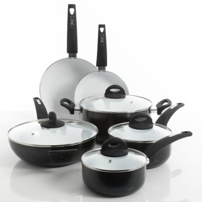 KOHL'S: Oster Herstal 10-Piece White Ceramic Cookware Set ONLY $55.99 (Reg $100)