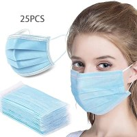 Amazon: 25 Pack Disposable Dust Masks $14.99 + Free Shipping