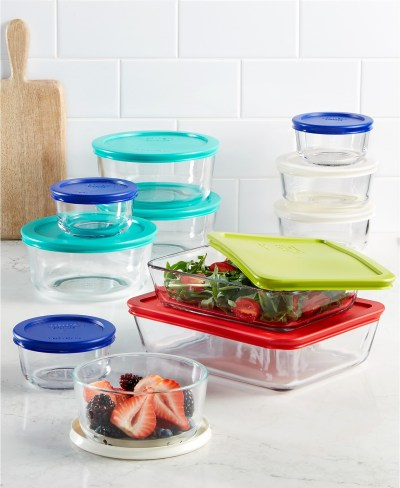 Macys: Pyrex 22 Piece Food Storage Container Set $29.99 ($90)