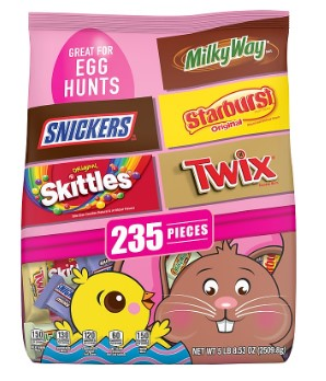 STAPLES: Mars Easter Mix Candy Bag, Variety Mix, 88.53 Oz. ON SALE!