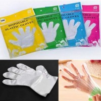 AMAZON: 100pcs PE Plastic Disposable Gloves Eco-Friendly Multifunction Gloves $2.99 ($10) Shipped