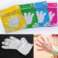 AMAZON: 100pcs PE Plastic Disposable Gloves Eco-Friendly Multifunction Gloves $2.99 ($10) Shipped