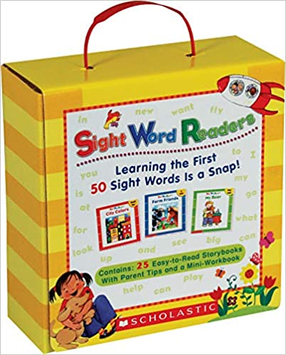 AMAZON: Sight Word Readers Parent Pack: Learning the First 50 Sight Words s a Snap!