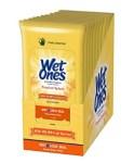 AMAZON: Wet Ones Antibacterial Hand Wipes, 20 Count (Pack of 10)