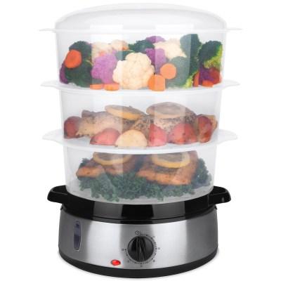WALMART: 3 Tier BPA-Free Electric Food Steamer w/ Egg Pockets, $29.99 (REG $42.99)