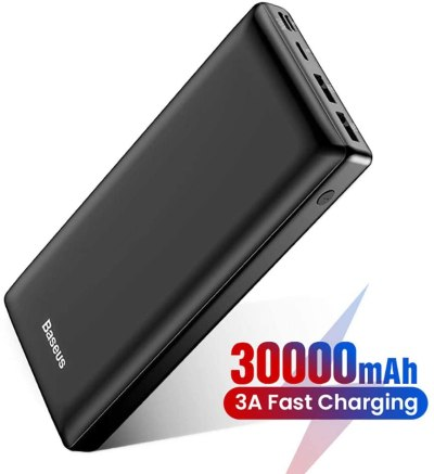 AMAZON: 30000mAh Power Bank USB C Fast Battery Pack Charger for $21.59 Shipped! (Reg.Price $42.99)