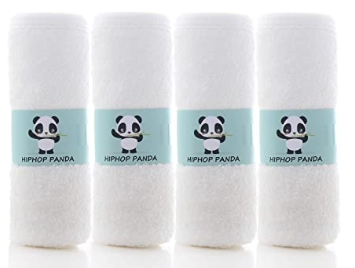 AMAZON: 4 Pack PANDA Bamboo Burp Cloths for $7.79 Shipped! (Reg. Price $19.99)