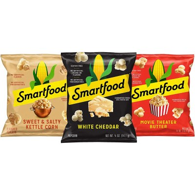AMAZON: 40 Pack Smartfood Popcorn Variety Pack, 0.5 Ounce for $13.98