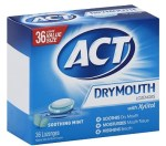 AMAZON: ACT Dry Mouth Lozenges Soothing Mint 36 Count Now $3.23 (Was $15.99)
