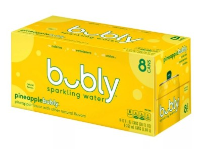 TARGET: Bubly 8-Pack Sparkling Water ONLY $3.50 Each – Just 44¢ Per Can!