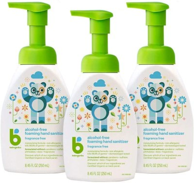 AMAZON: Babyganics Alcohol-Free Foaming Hand Sanitizer, JUST $15.69 (REG $20.97)