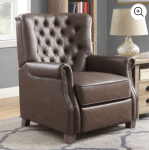 WALMART: Better Homes and Garden Tufted Push Back Recliner for $289.00 + Free Shipping! (Reg. Price $349.00)