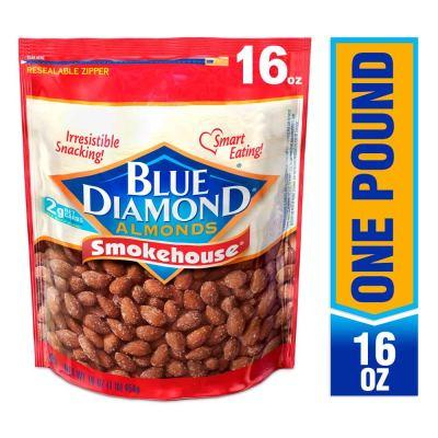 AMAZON: Blue Diamond Gluten Free Almonds, Smokehouse, 16 Ounce, $5.99