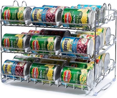 AMAZON: Stackable 36 Can Rack Organizer For $19.99 + Free Prime Shipping.