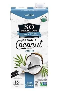 AMAZON: So Delicious Dairy Free Coconut Milk Beverage Vanilla 32 Ounce $2.07