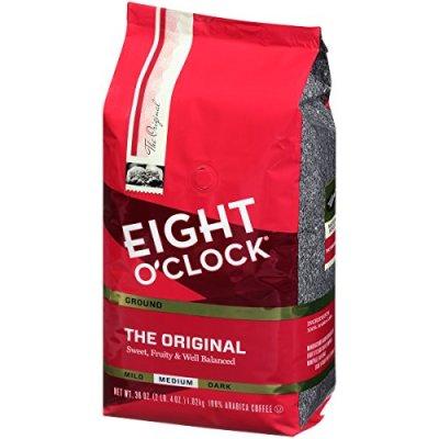 AMAZON: Eight O Clock Whole Bean Coffee The Original 36oz Now $9.43