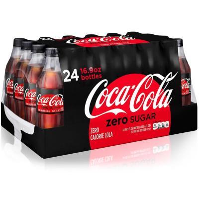 SAM'S CLUB: Coca-Cola Zero Sugar (16.9oz / 24pk) For $11.98