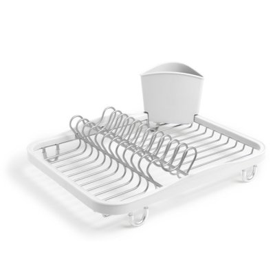 WALMART: Umbra Sinkin Dish Drying Rack With Removable Cutlery Holder For $14.99 (Was $22) + Store Pickup