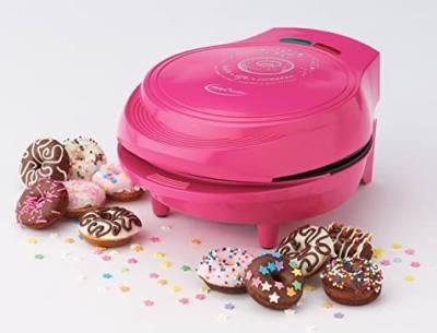 AMAZON: Betty Crocker Mini Donut Maker, One Size, Metal – PRICE DROP!