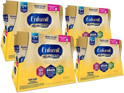 AMAZON: 24-Count Enfamil NeuroPro Ready To Feed Baby Formula Milk, 8 Fluid Ounce For $47 Shipped!
