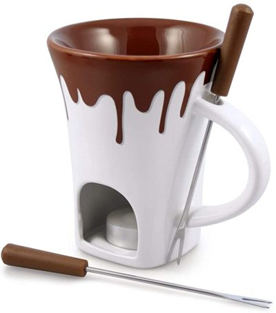 AMAZON: Swissmar 4-Piece Nostalgia Chocolate Fondue Mug Set – PRICE DROP!