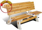 AMAZON: Flip Top BenchTable, Patio Table, Sand, $69.78 (REG $108.95)