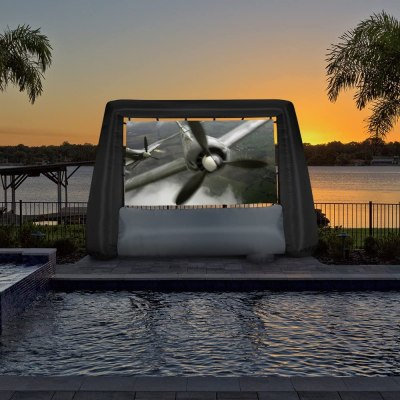AMAZON: Gemmy 12.5 Feet Inflatable Movie Screen Only $99.99 (Reg. $250)