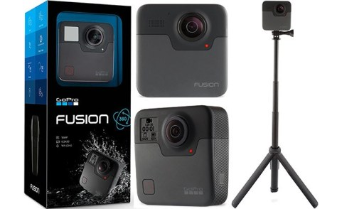 GoPro Fusion Camera for ONLY $178.99 + FREE Shipping (Reg $199)