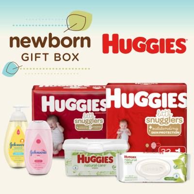 WALMART: Huggies Newborn Gift Box 56 Diapers + 96 Wipes