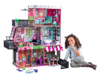 WALMART: KidKraft Brooklyn's Loft Dollhouse with 25 Accessories for $98.75 + Free Shipping! (Reg. Price $159.99)