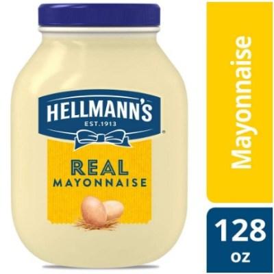 AMAZON: Hellmann's Real Mayonnaise Jar, Gluten Free, 1 gallon $6.76