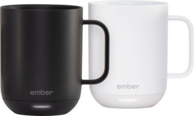 BEST BUY: Ember 10-Oz. Temperature Controlled Mug (2pk) Black/White For $99.99 (Was$199.99) + Free Shipping