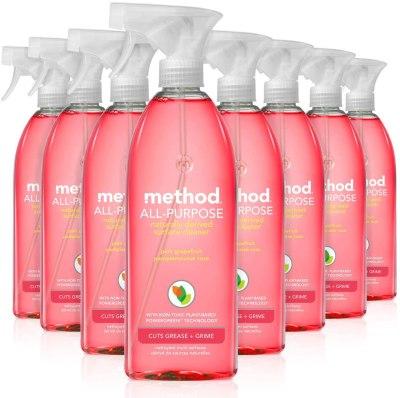 AMAZON: Method All Purpose Cleaner, Pink Grapefruit, 28 Fl Oz (Pack of 8)