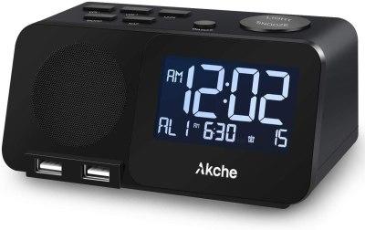 AMAZON: Night Light Digital Alarm Clock with FM Radio for $20.00 (Reg.Price $49.99)