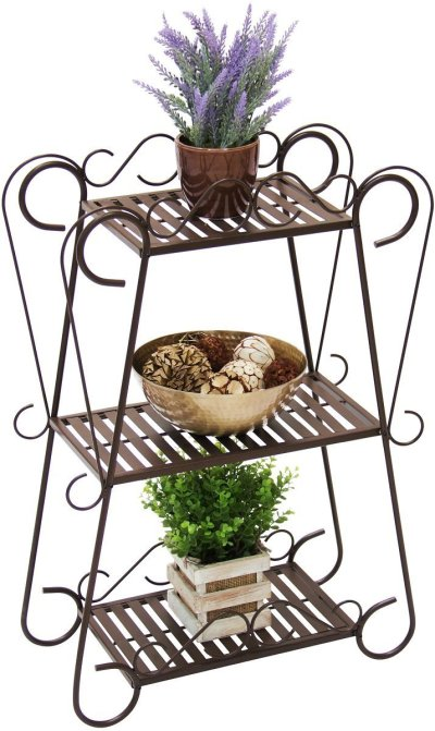 WALMART: 3-Shelf Multifunctional Plant Stand Display Rack $39.99 + FREE Shipping!