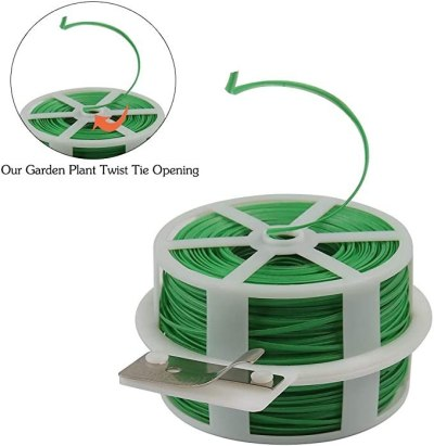 AMAZON: Shintop 328 Feet Garden Plant Twist Tie With Cutter For $7.99 (Was $16)