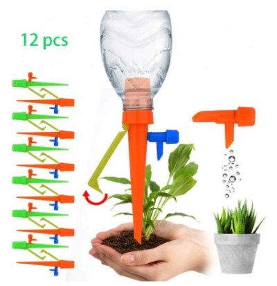 AMAZON: Plant Waterer with Control Valve Switch – 50% OFF!