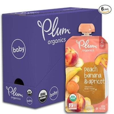 AMAZON: Plum Organics Stage 2, Organic Baby Food (Pack of 6) – PRICE DROP!