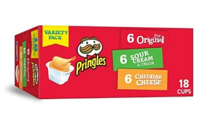 AMAZON: 18 Count Pringles Flavored Variety Pack Potato Crisps for $6.69 Shipped!