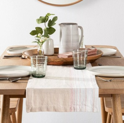 TARGET: Ombre Runner-Dusty Pink Stripe-Hearth & Hand With Magnolia For $8.99 (Reg. $17.99)